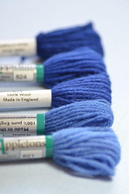 Complete range: 820 Royal Blue