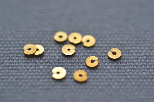 Spangles 4mm - Gilt