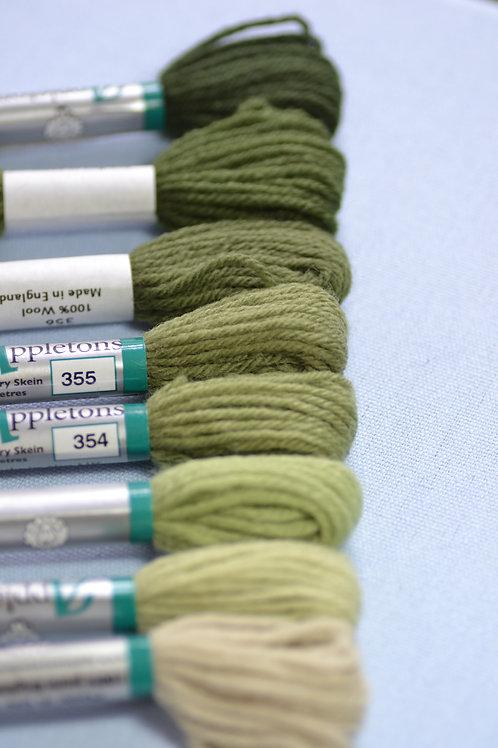 Complete range: 350 Grey Green