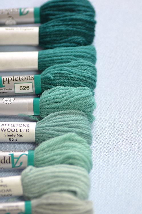 Complete range: 520 Turquoise
