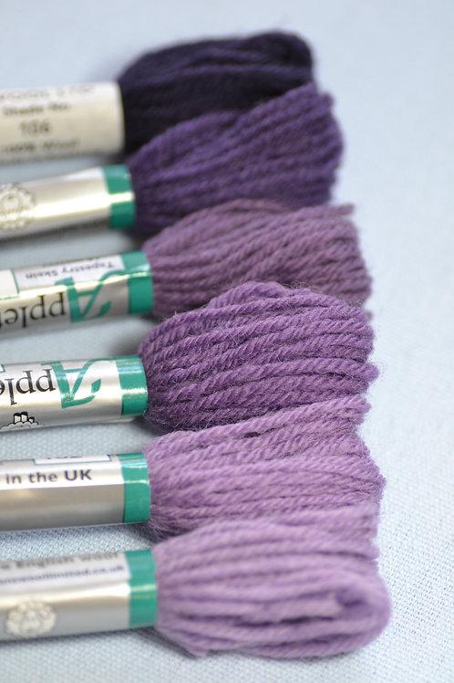 Complete range: 100 Purple