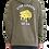 Thumbnail: Stay Cheesy Sweatshirt - Olive