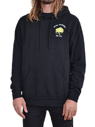 Stay Cheesy Sweatshirt - Black