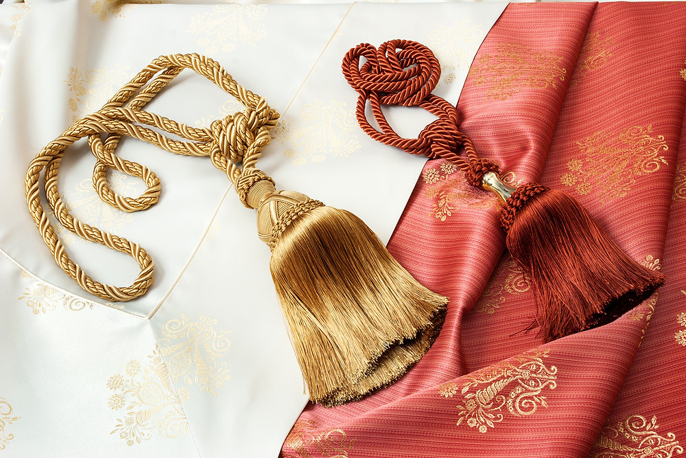 Gilding the lily - luxurious curtain tassles