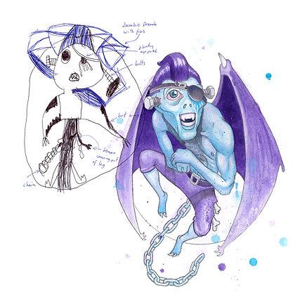 Colaborate Elaborate Drawing #2 : Henry Humphreys-Ryder