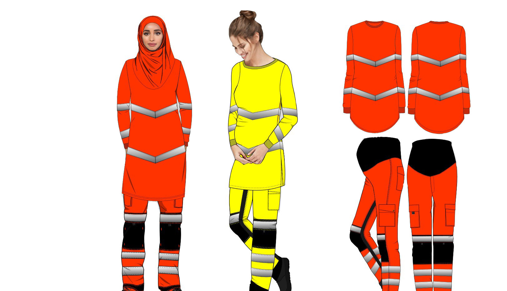 PPE MOdesty & Maternity range