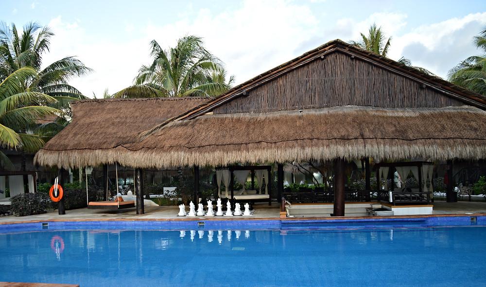 Pool bars for each of block of casitas