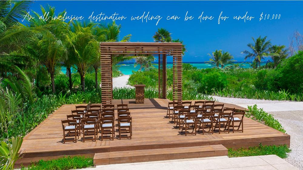 Unico Beach Destination Wedding