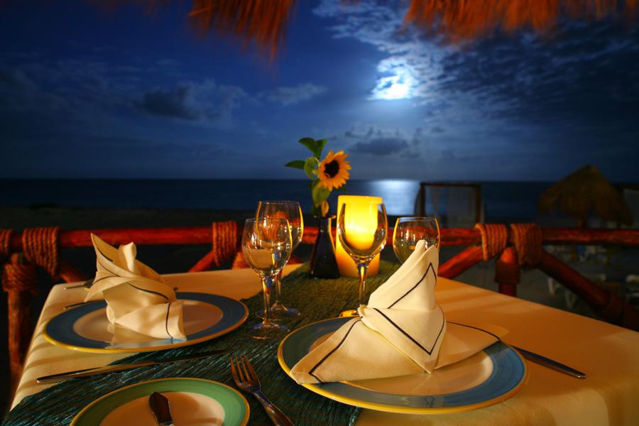 Blue terrace