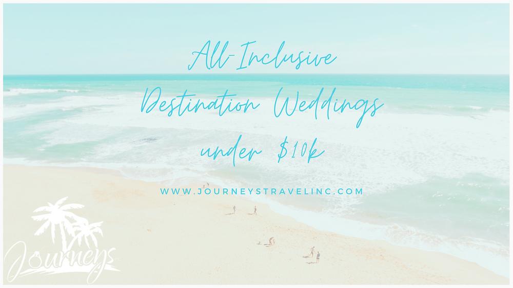 Journeys Destination Weddings All Inclusive Resorts