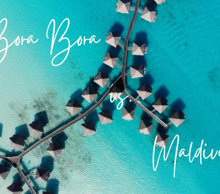 Bora Bora vs. Maldives