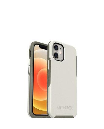 מגן כיסוי OtterBox Symmetry לבן לאייפון 12 תומך MagSafe