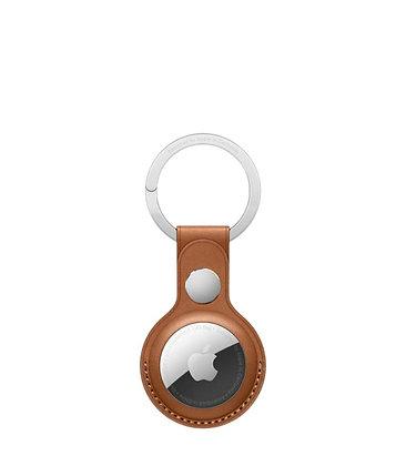 כיסוי מקורי ל AirTag מחזיק מפתחות עור