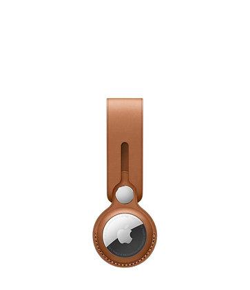 כיסוי ל AirTag מקורי בצבעים אוכף עור AirTag Loop
