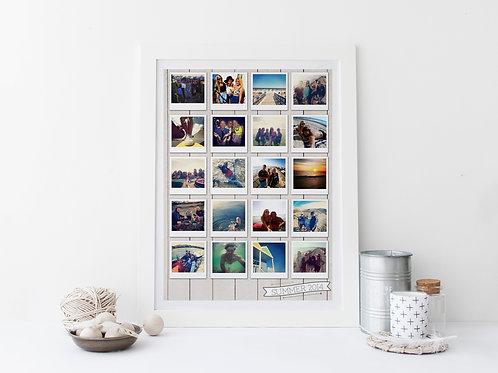 Bespoke Polaroid Picture Print