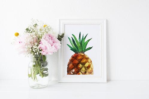 Big Pineapple Print