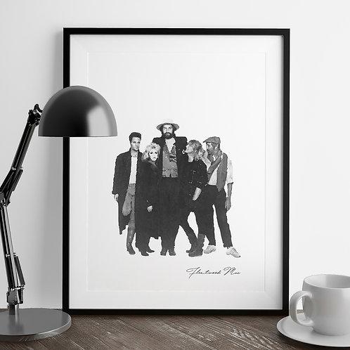 Fleetwood Mac Art Print