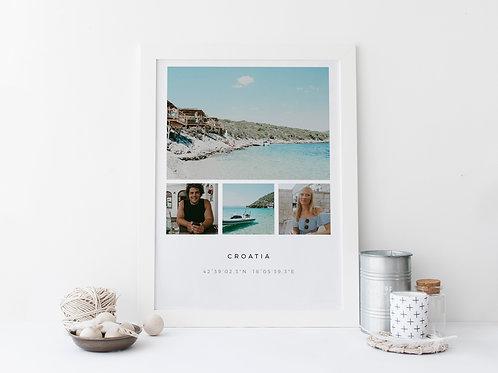 Location Memories Print