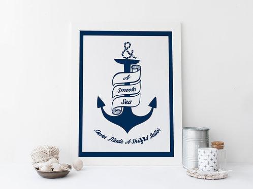 Smooth Sea Print