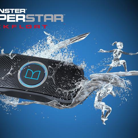 Superstar Backfloat Splash