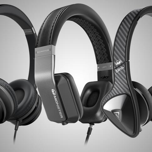 Monster On Ear Headphones
