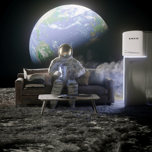 Chill on the Moon