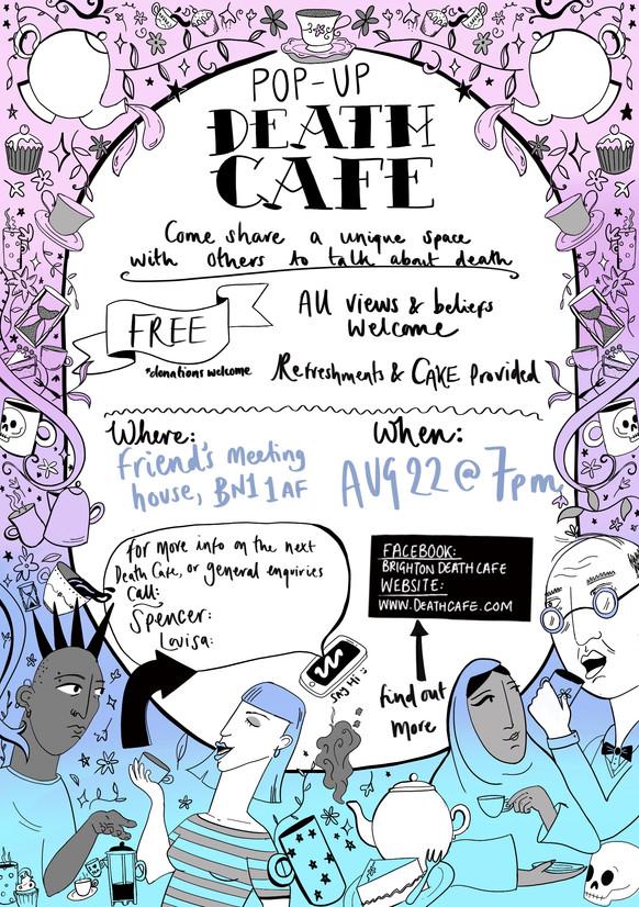 Death Cafe flyer