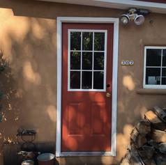 Exterior door install