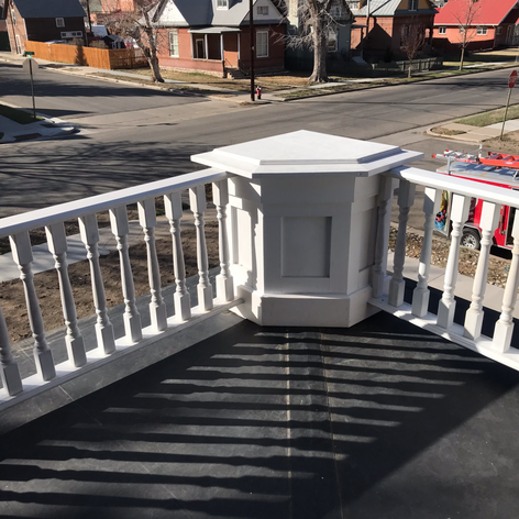 balcony box & railing