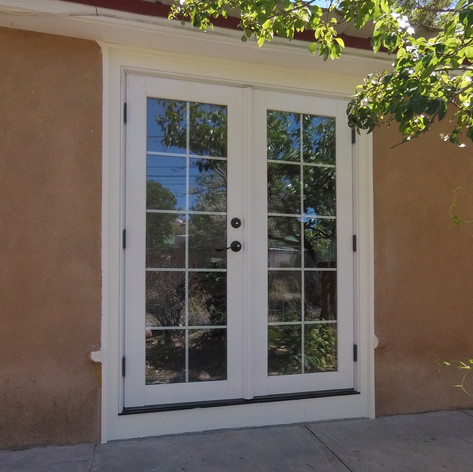 French patio doors installation