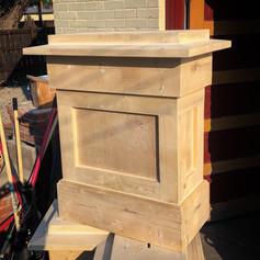 custom decorative column base