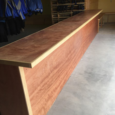 Baltic burch counter & seating