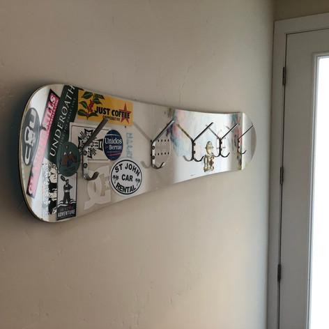 snowboard coat hooks