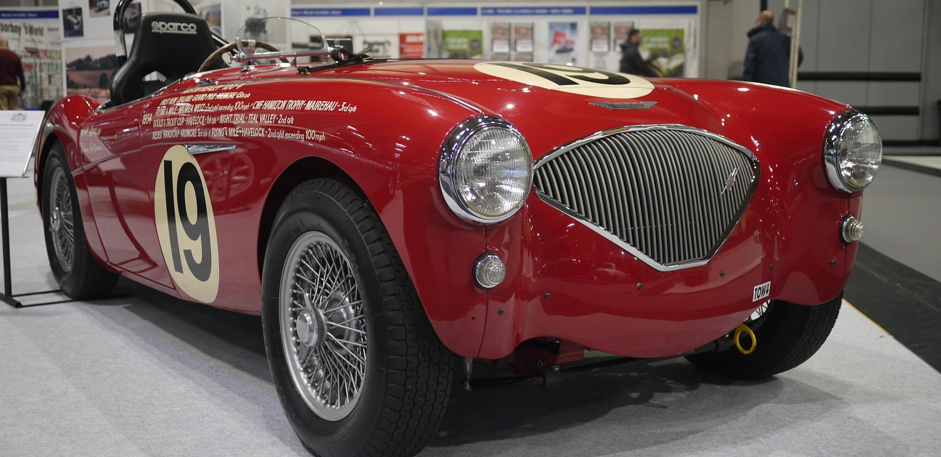 Austin Healey BN1 Race Car