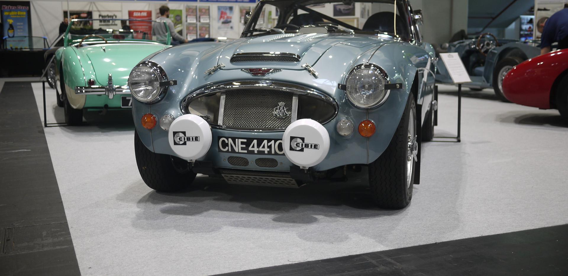 Austin Healey BJ8 Rally Car
