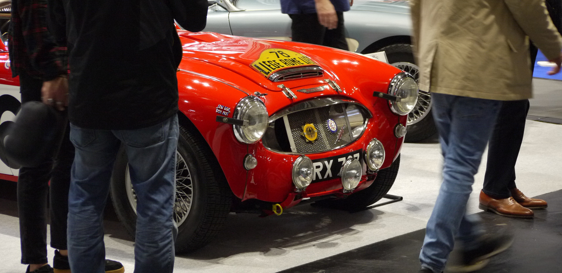 Austin Healey Works Rally Car