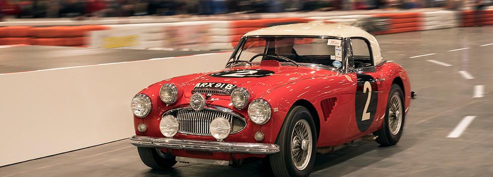 Austin Healey Works Rally Car