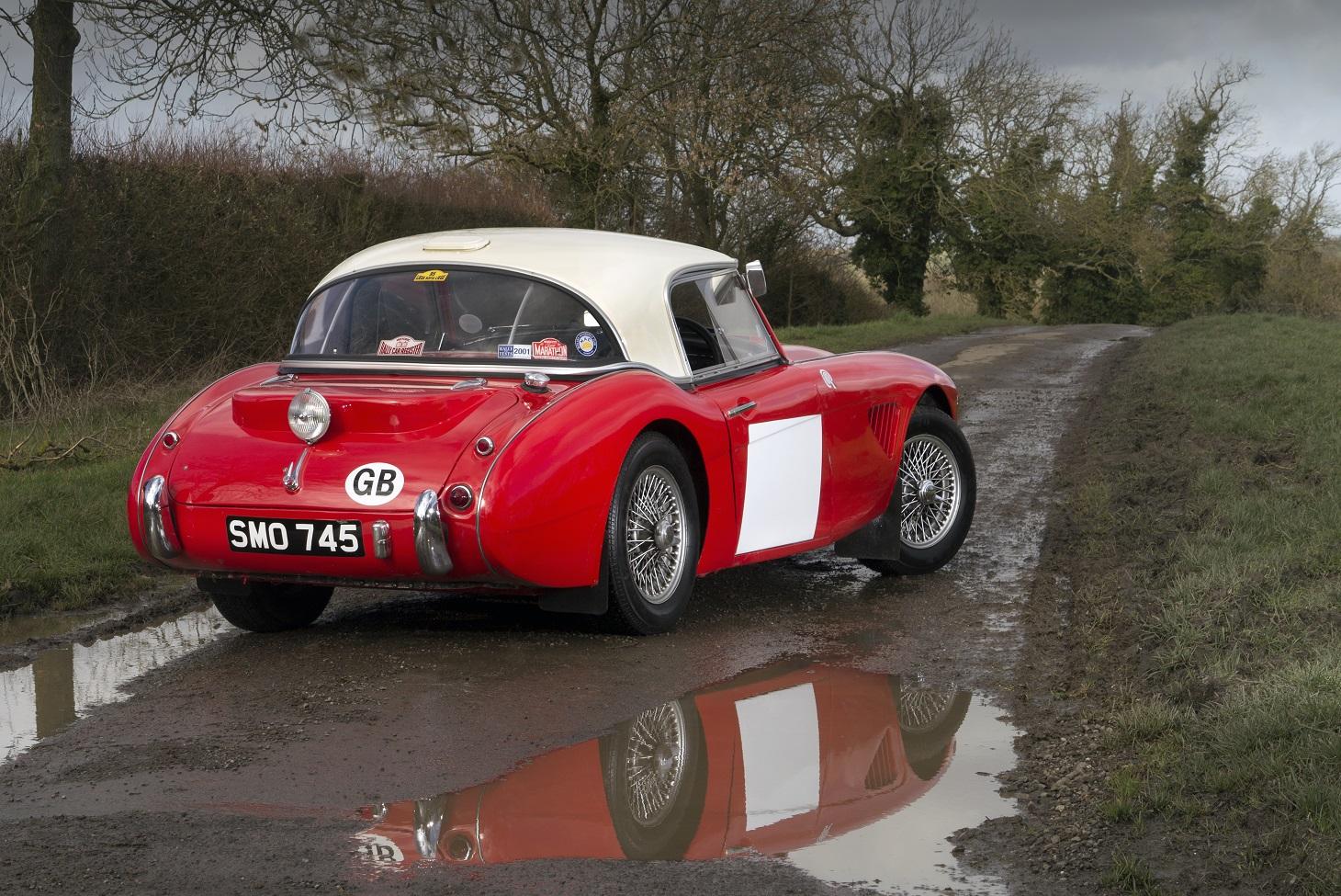 Austin Healey Rally Car