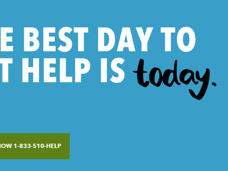 The Best Day to Get Help is Today