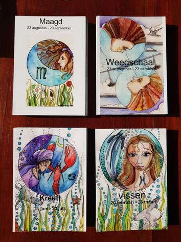 Dierenriemkaarten