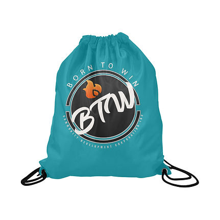 born to win teal bag closed.jpg