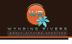 Wynding River  FRONT Business Card