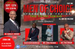 Men Of Choice Seminar