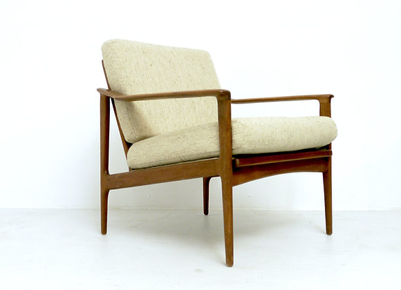 Ib Kofod-Larsen Teak Easy Chair