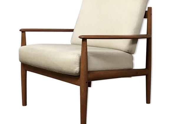 Grete Jalk Model 118 Teak Armchair for France & Son