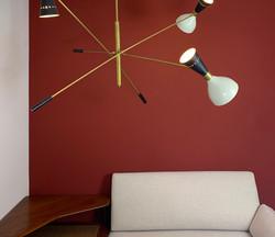 Italian Sputnik Lamp