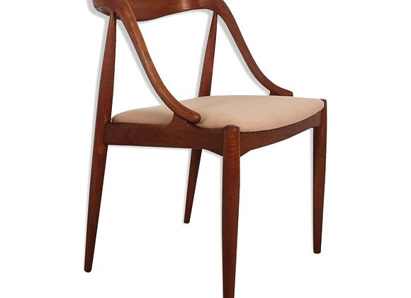 Johannes Andersen Teak Dining Chairs, Set of 4