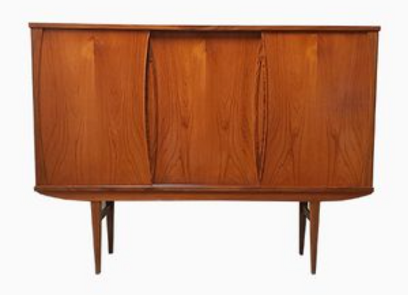 Teak Highboard from P. Westergaard Mobelfabrik
