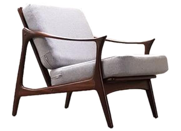 Arne Hovmand Olsen Teak Easy Chair for Mogens Kold