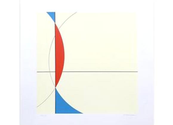 Heinrich Niemeyer Screenprint for Edition Partanen